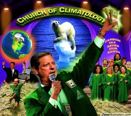 Die offensichtlichen Manipulationen der Klima-Mafia
