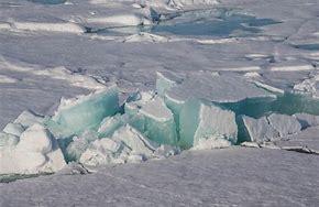 Die Eisbedeckung in der Arktis