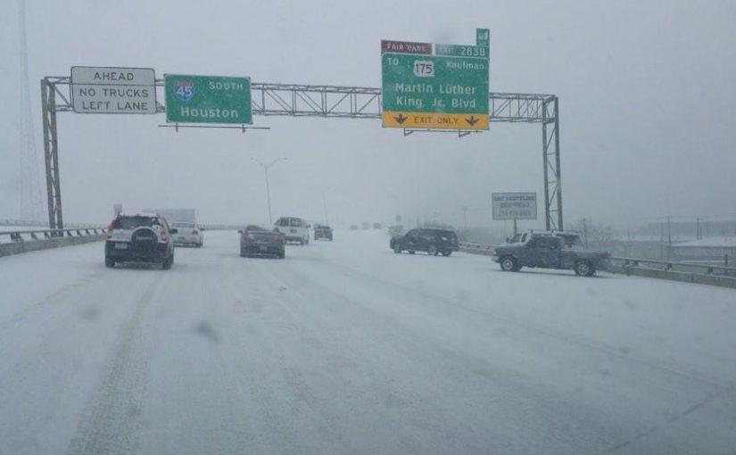 """""""Globale Abkühlung"""" oder lokaler Wettereffekt? Texas meldet """"unglaublich seltene"""" Schneefälle"""