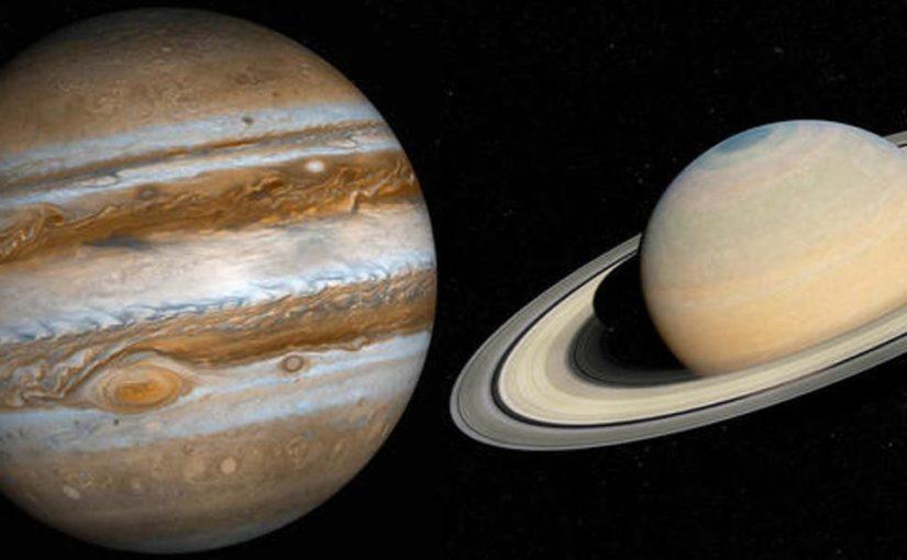 Jupiter, Saturn und der retrograde Sonnenzyklus